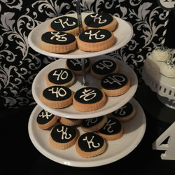40th Party Cookies