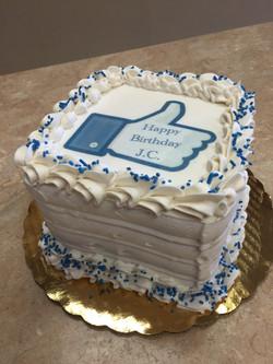 Facebook Like Cake