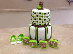 Baby Shower Cake Set