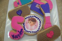 Doc McStiffins Cookies