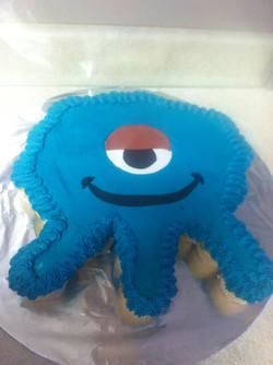 Monster Buttercream Cake