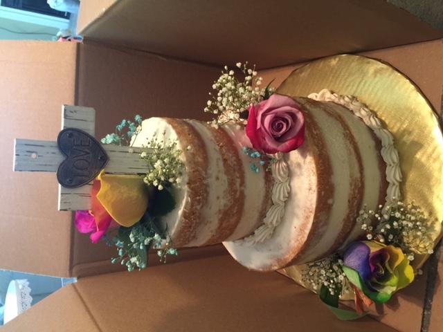 Baby Blessing Cake
