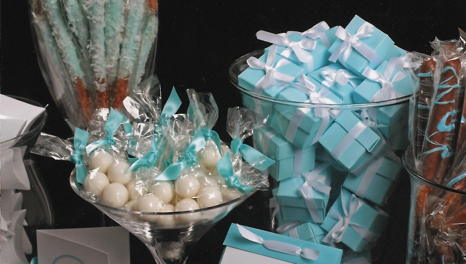 Baby Blue Candy Table