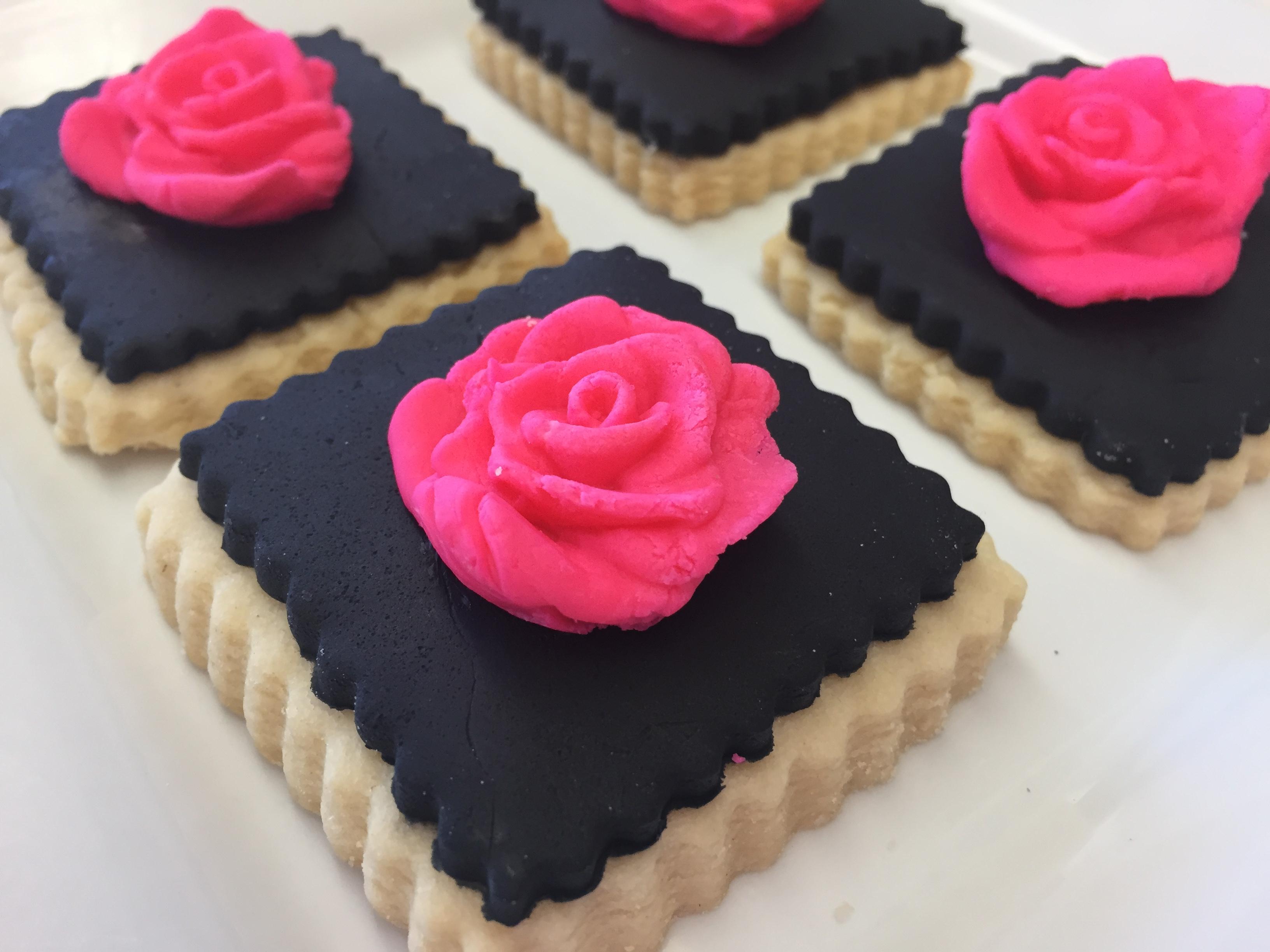 Rose Cookies