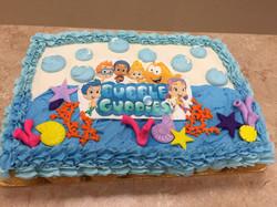 Bubble Gubbies Cupcake Cake