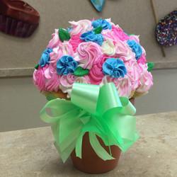 Pink & Blue Cupcake Bouquet