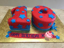The Big 10 Cake
