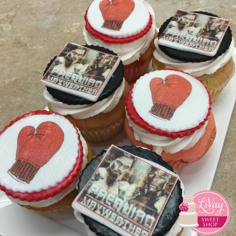 Mayweather Cupcakes
