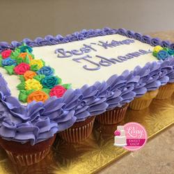 Good Luck Cupcake Cake