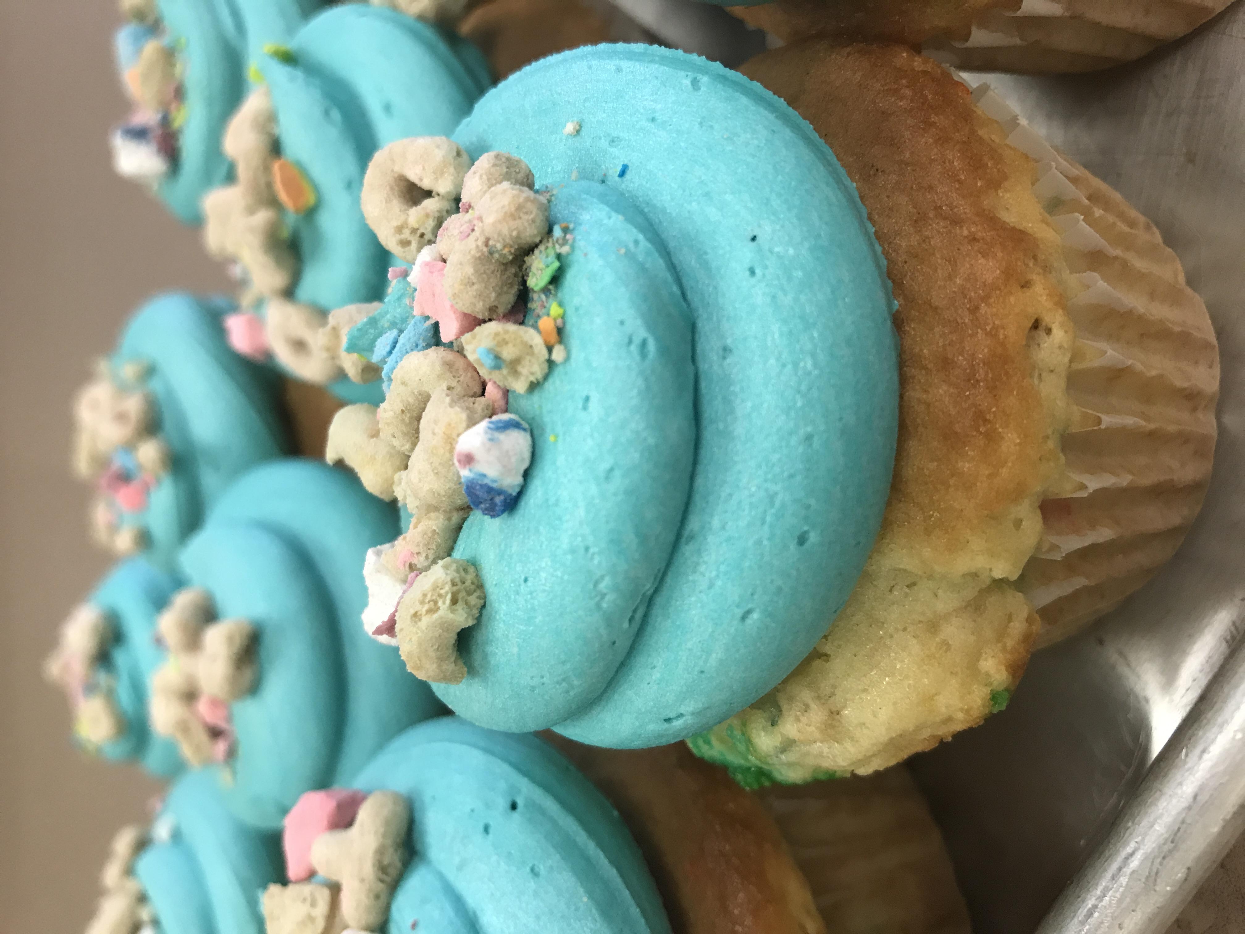 Lucky Charm Cupcake