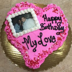 Heart Cupcake Cake