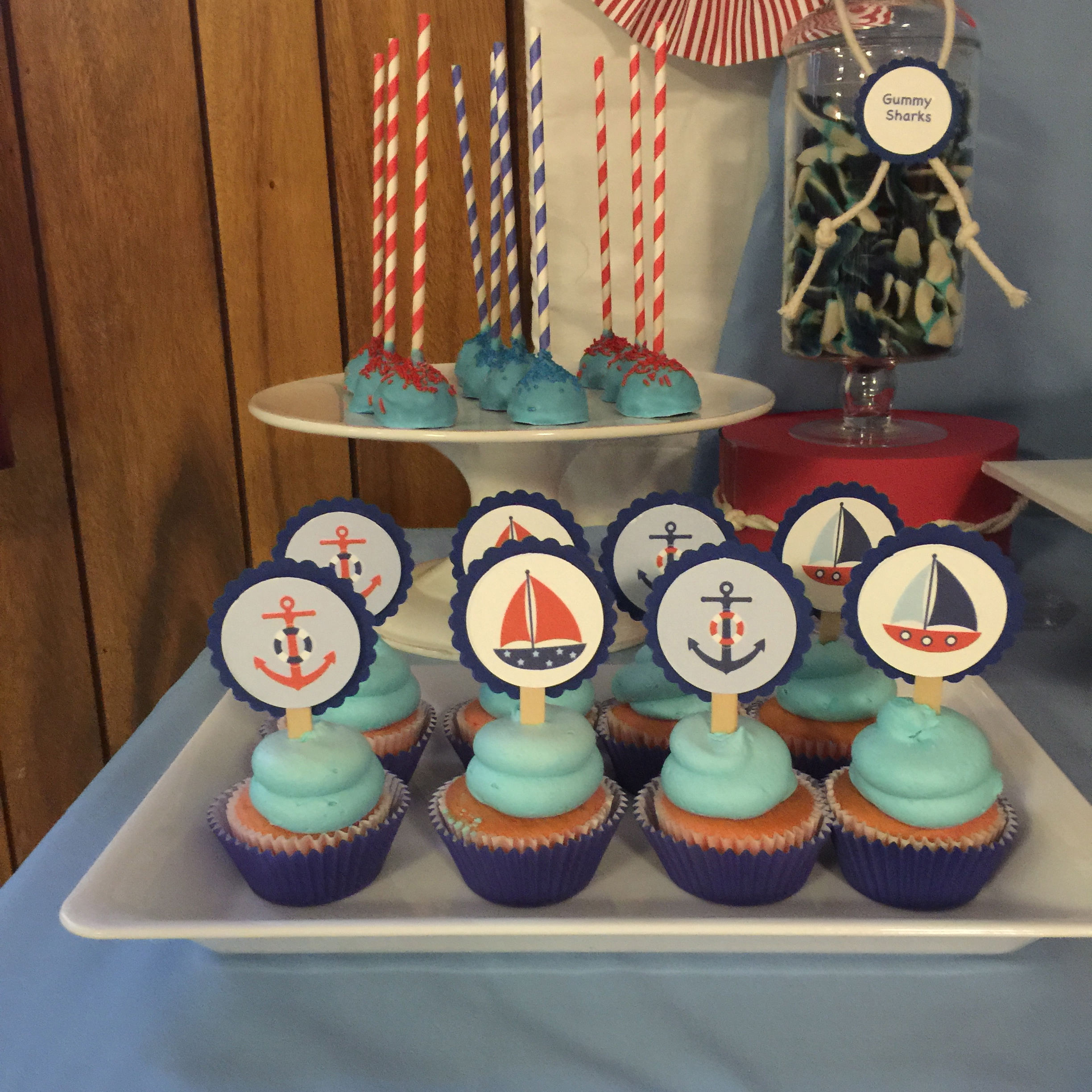 Sailors Boat Dessert Table
