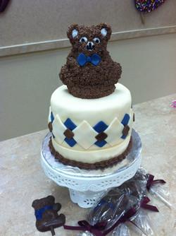 Teddfy Bear Cake