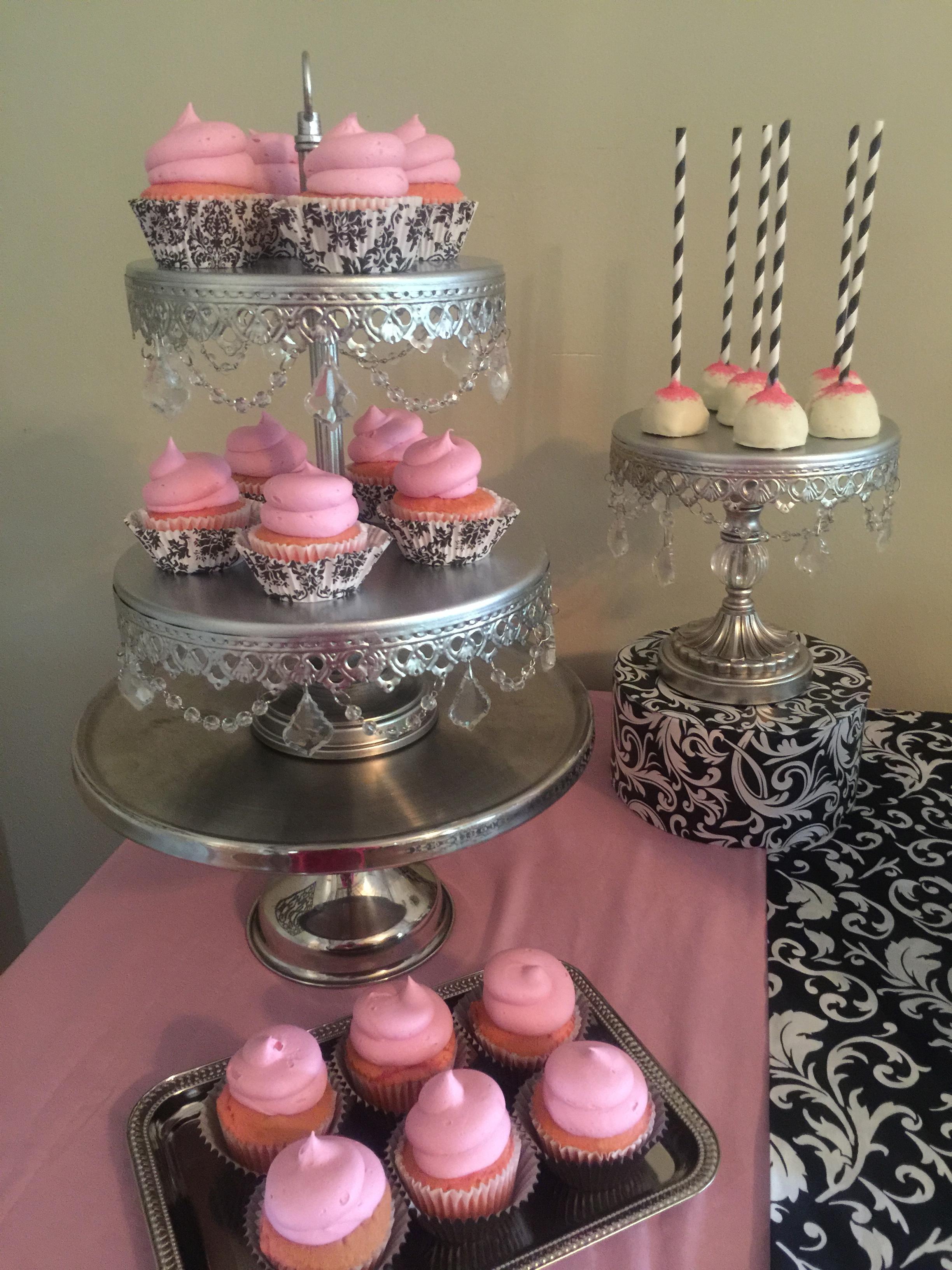 Pink Dessert Buffet