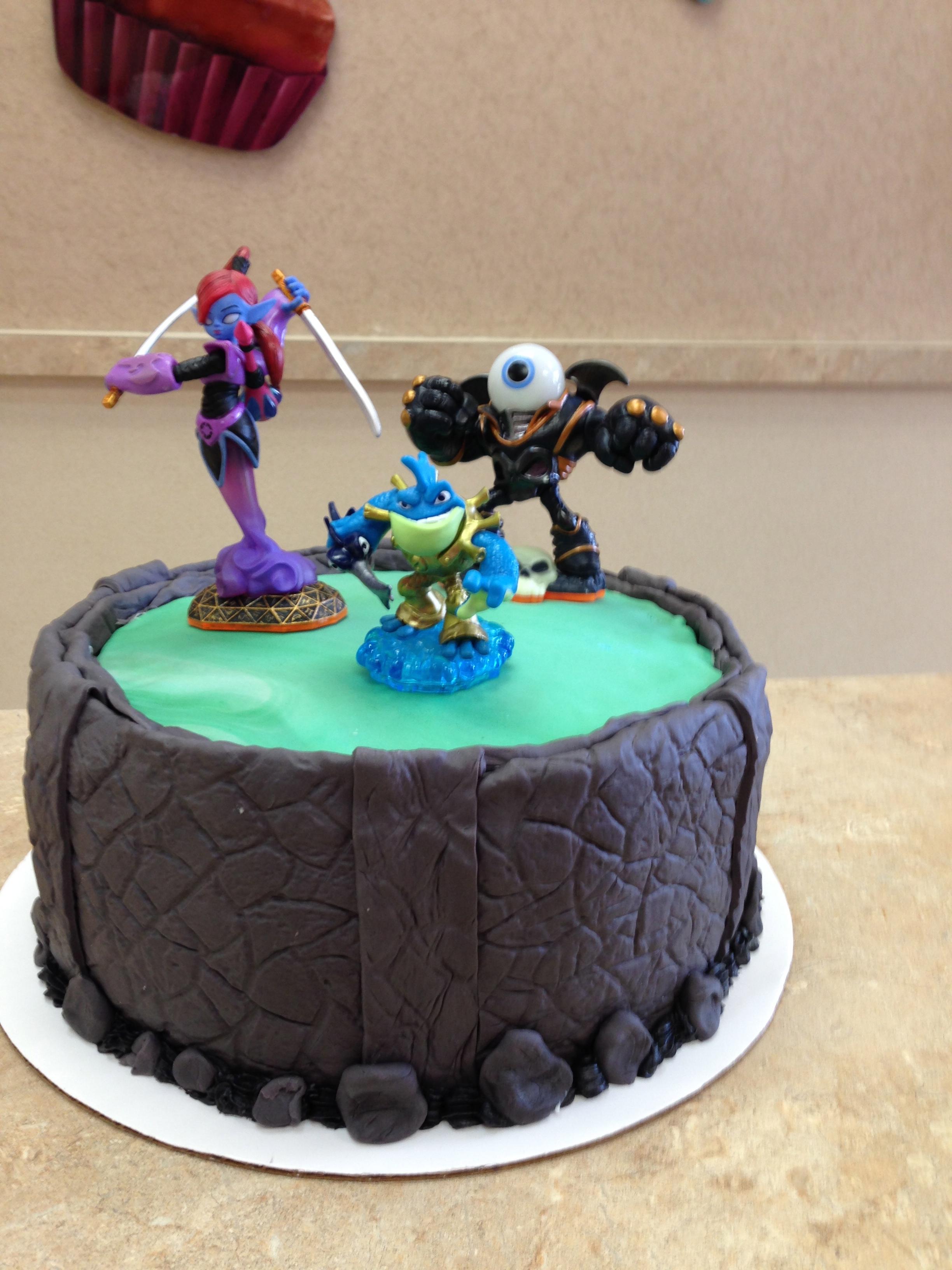 Skylanders Adventures Cake