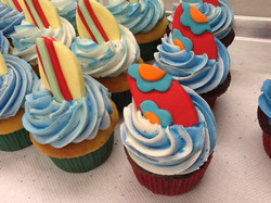Surf Broad Cupcakes