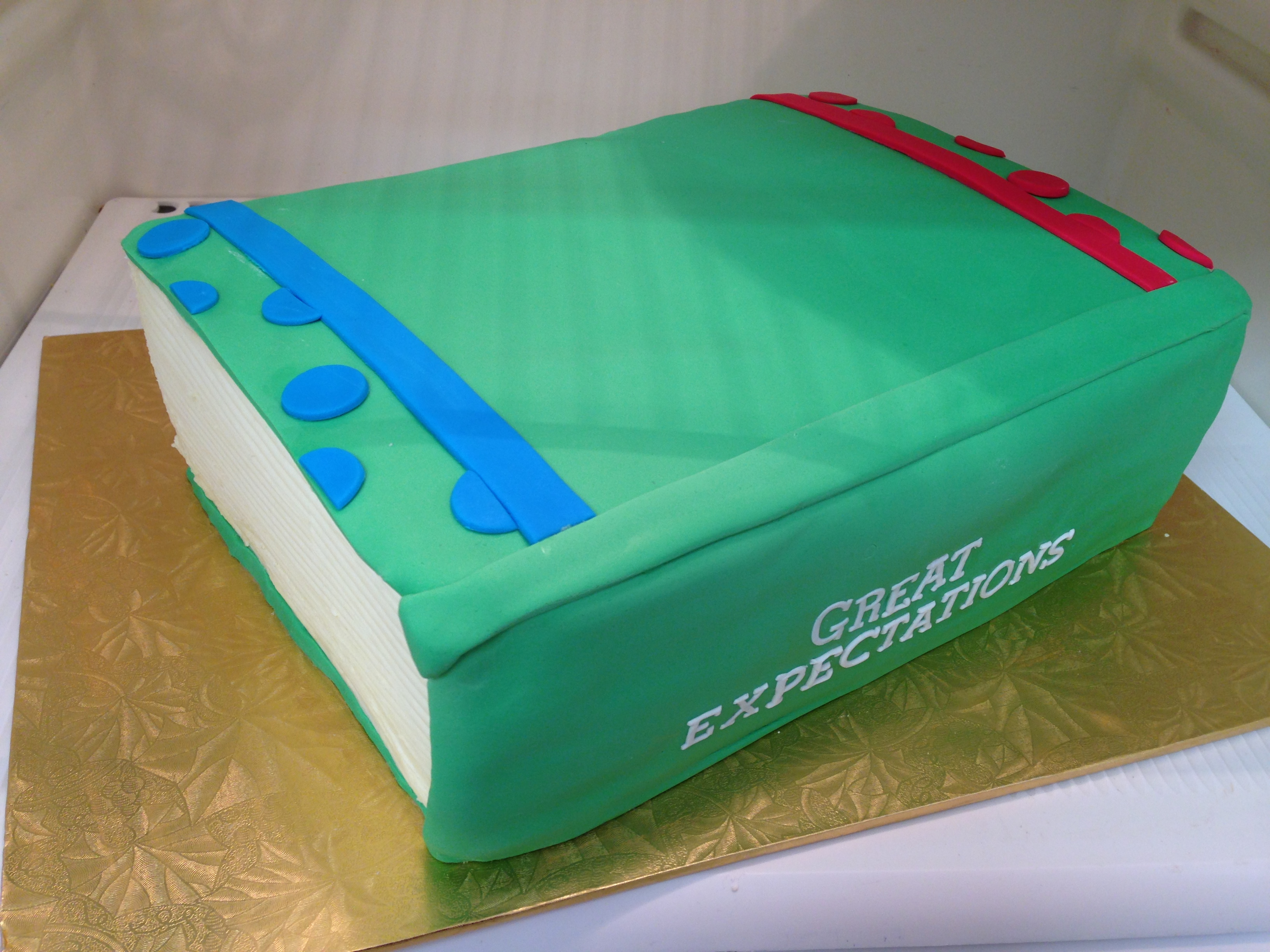Closed Book Cake