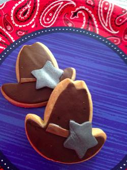 Cowboy Hat Cookies