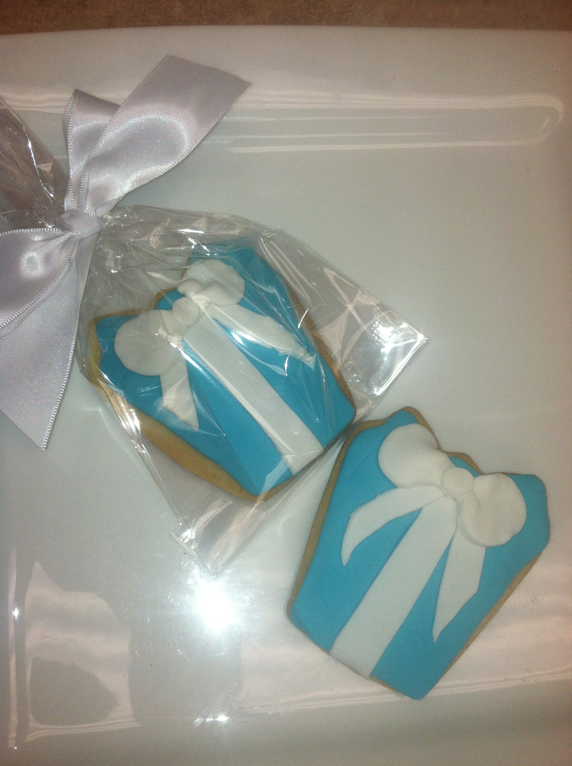 Tiffany Box Cookies
