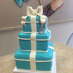Tiffany Cake With A Neckless