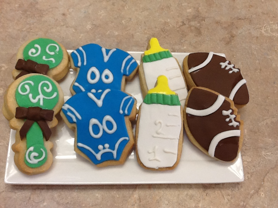 Baby Shower - Boy Cookie