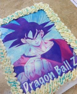 Dragon Ball Z Cupcake Cake