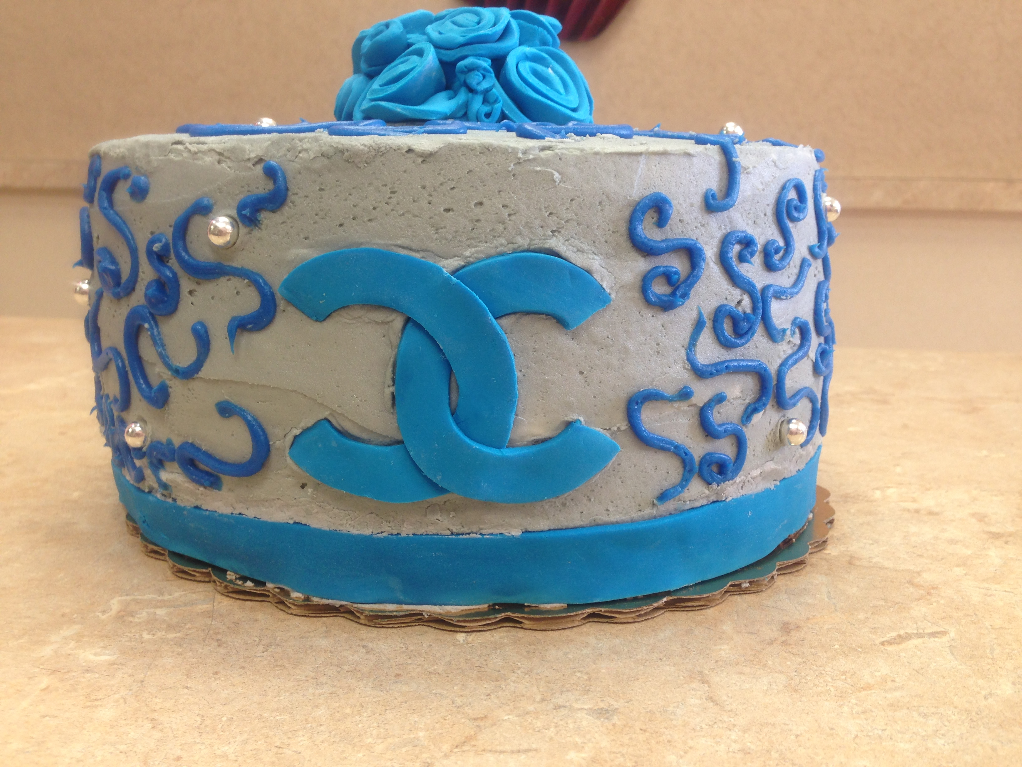 Channel Design Cake