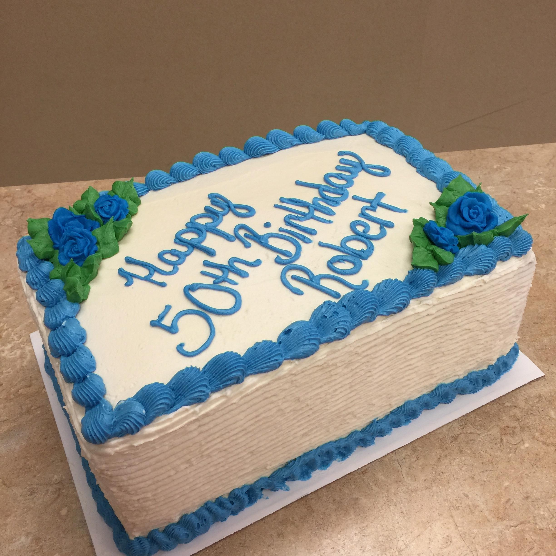 The BIG 50 Cake