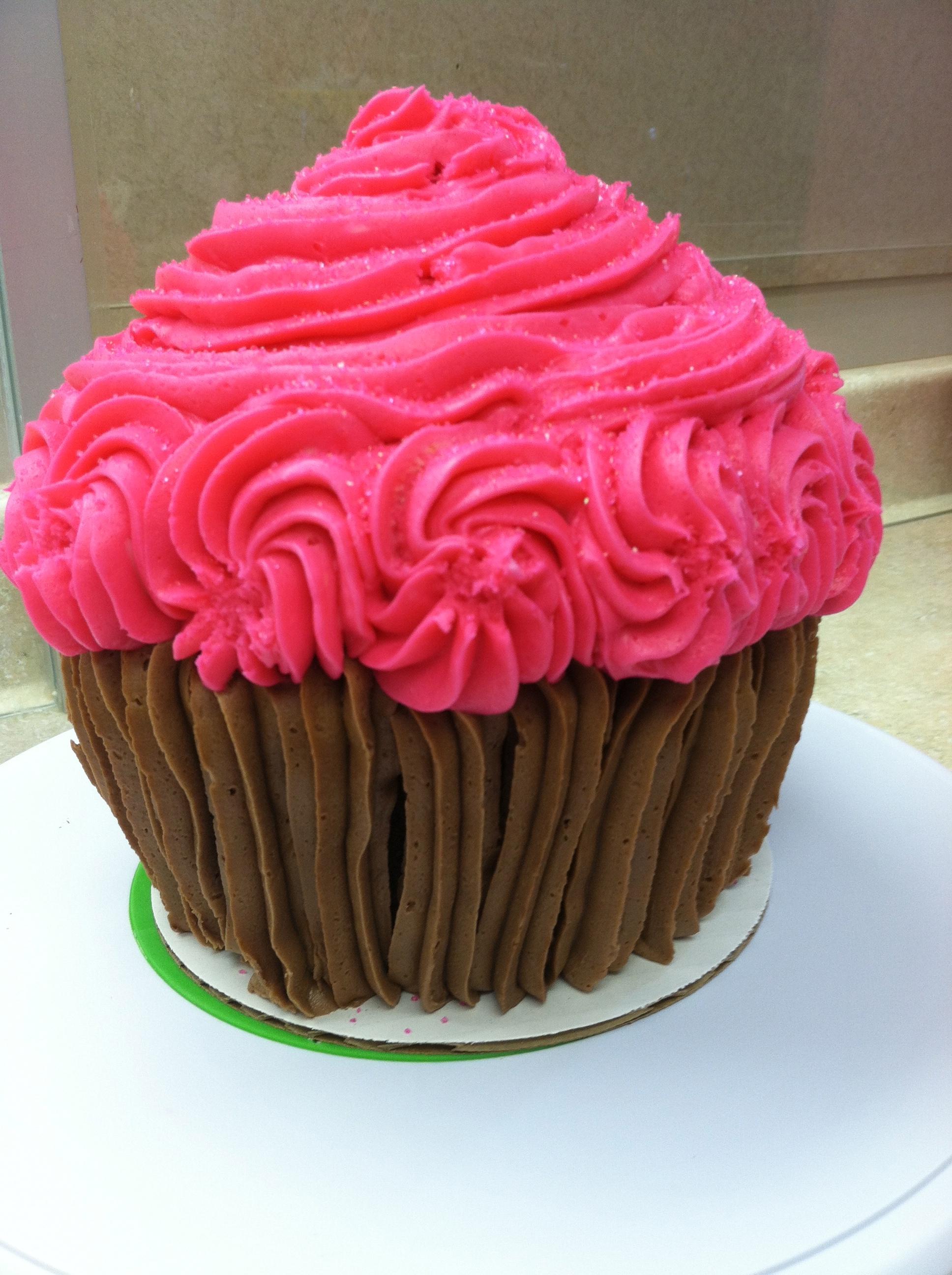 PINK King Size  Cupcake