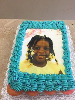 Picture Frame Cupcake Cake
