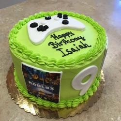 Xbox Theme Cake