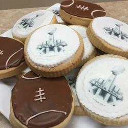 Football Super Bowl Cookies