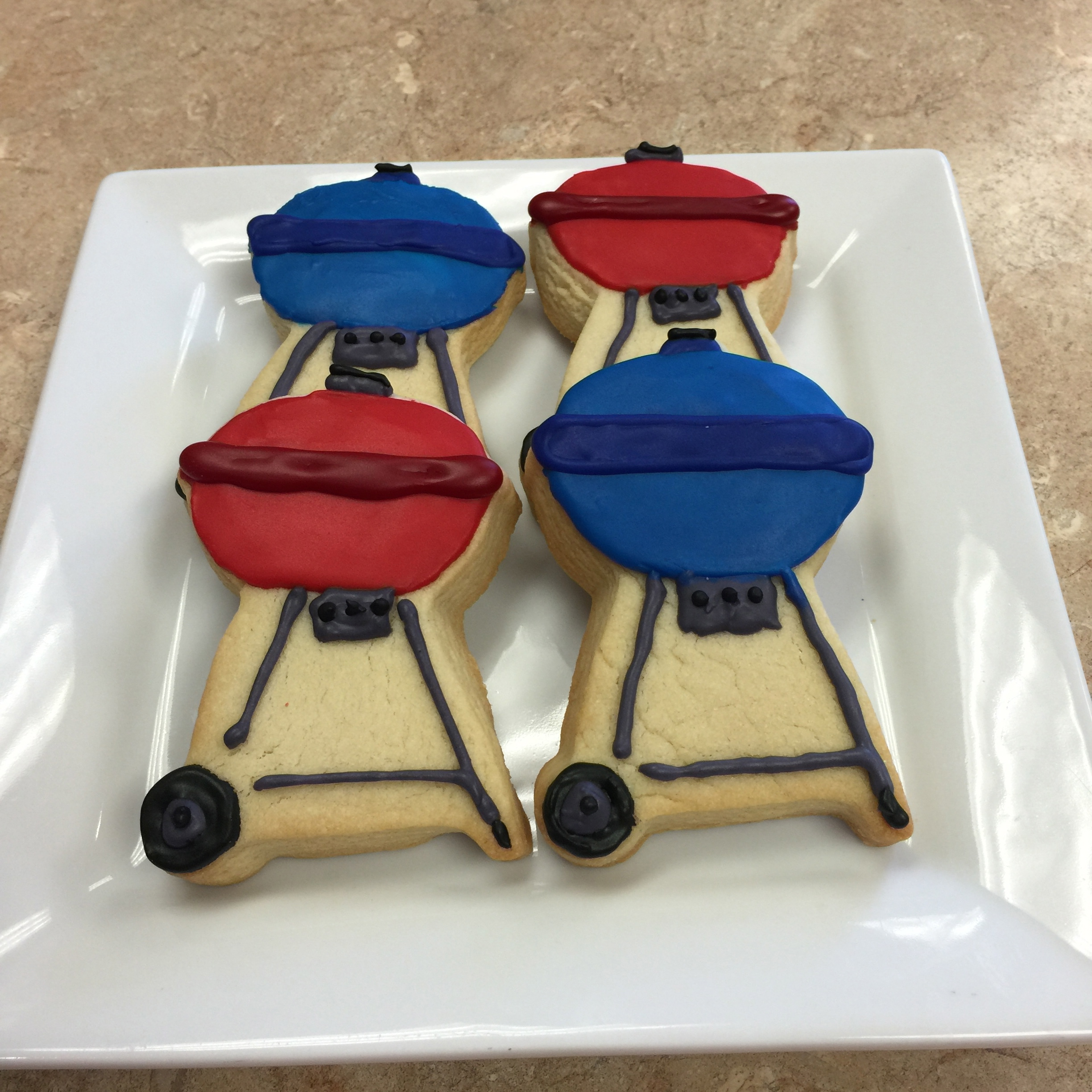 Barbeque Grill Cookie