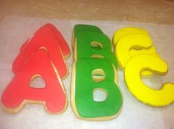 A B C Cookies