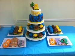 ZOO Theme Cake