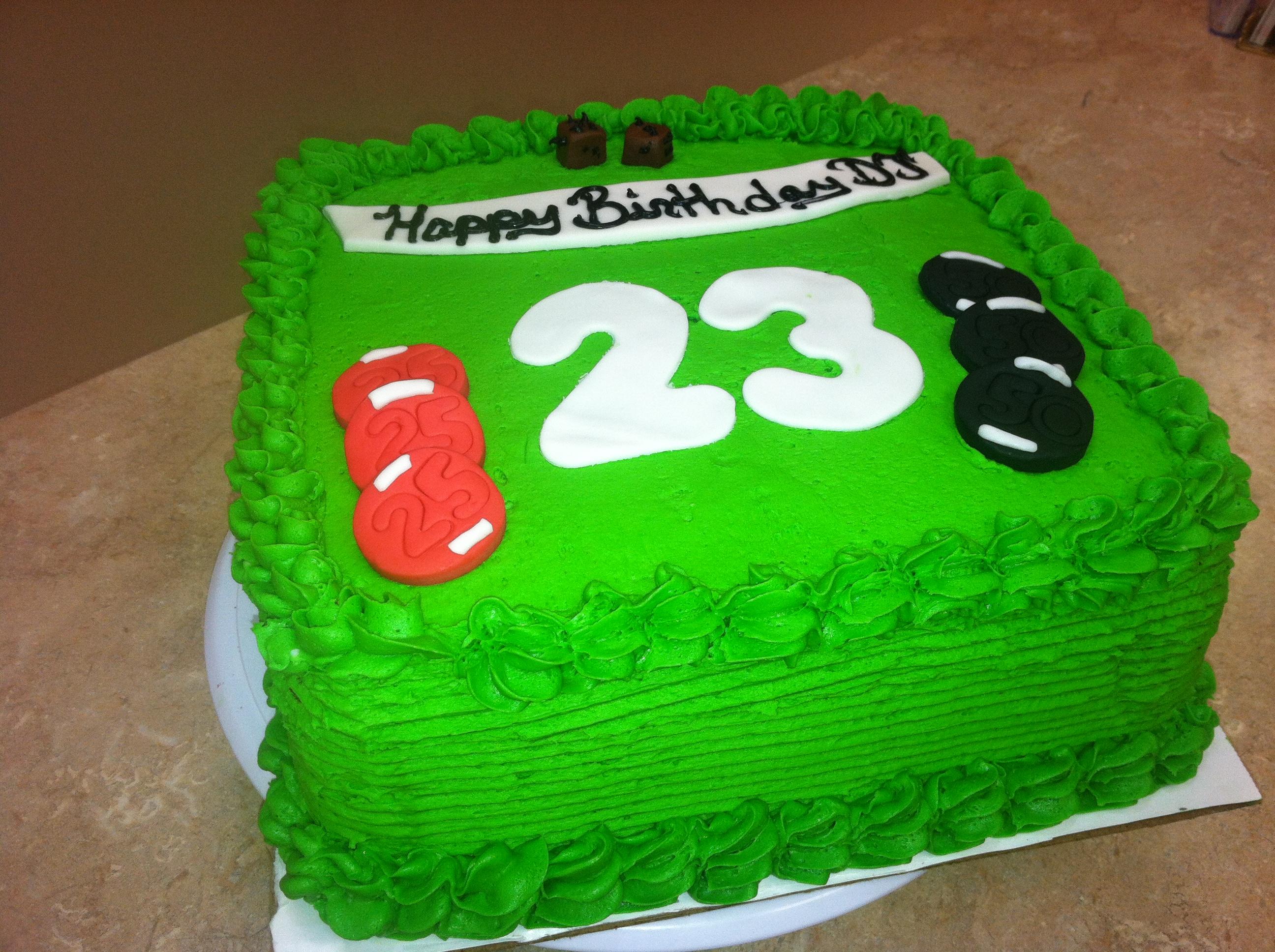 Big 23 Cake
