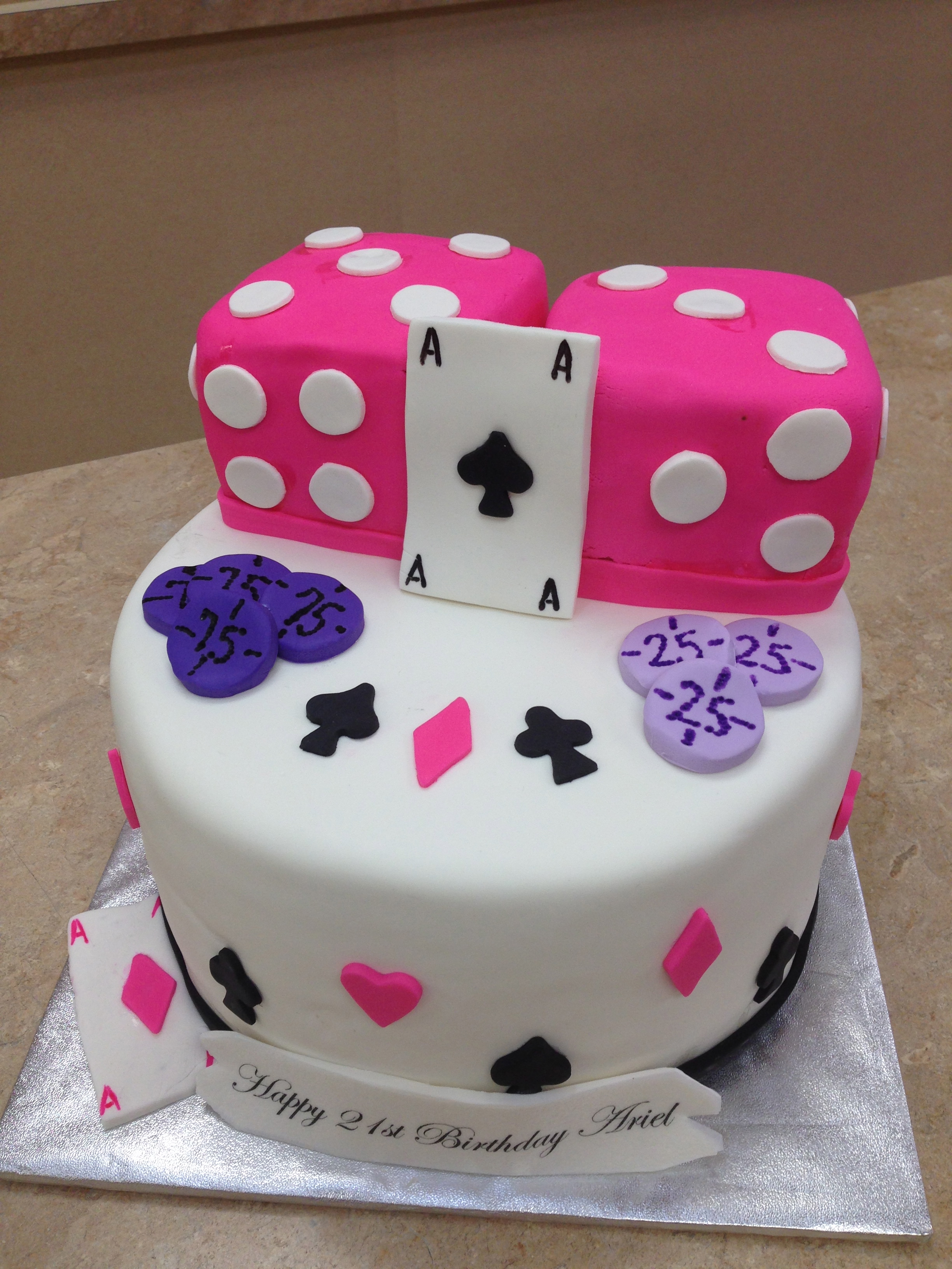 Roll The Dice Cake
