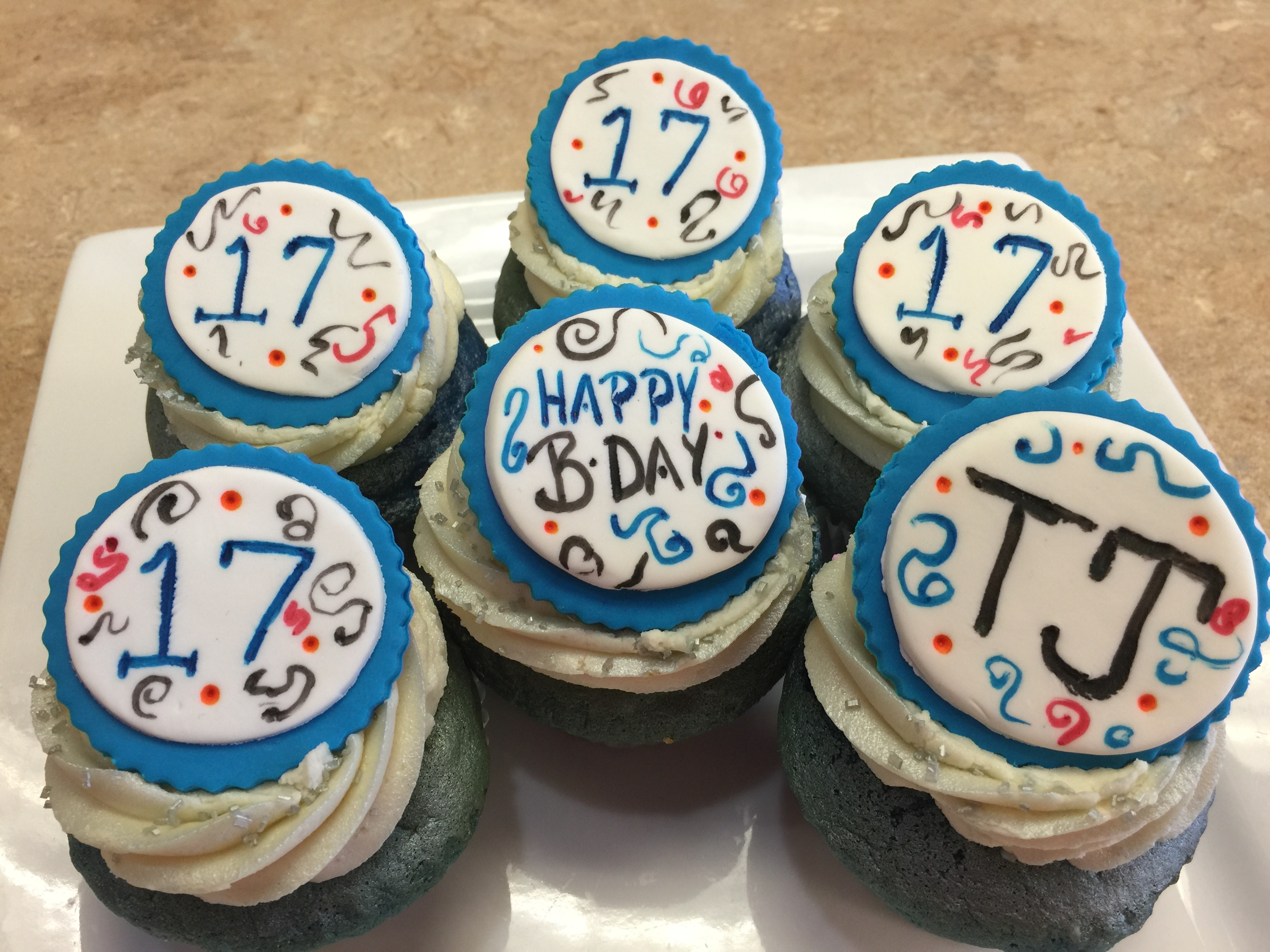 Birthdiay Cupcakes