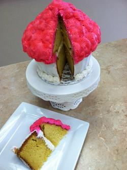 Inside A King Size Cupcake