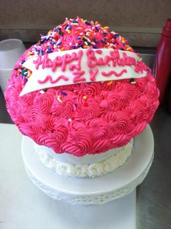Birthday King Size Cupcake