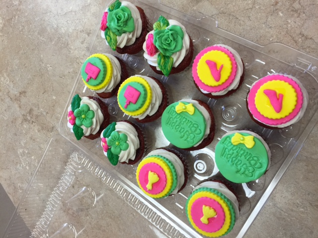 Birthday Girl Cupcakes