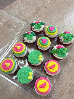 Birthday Girl Cupcakes