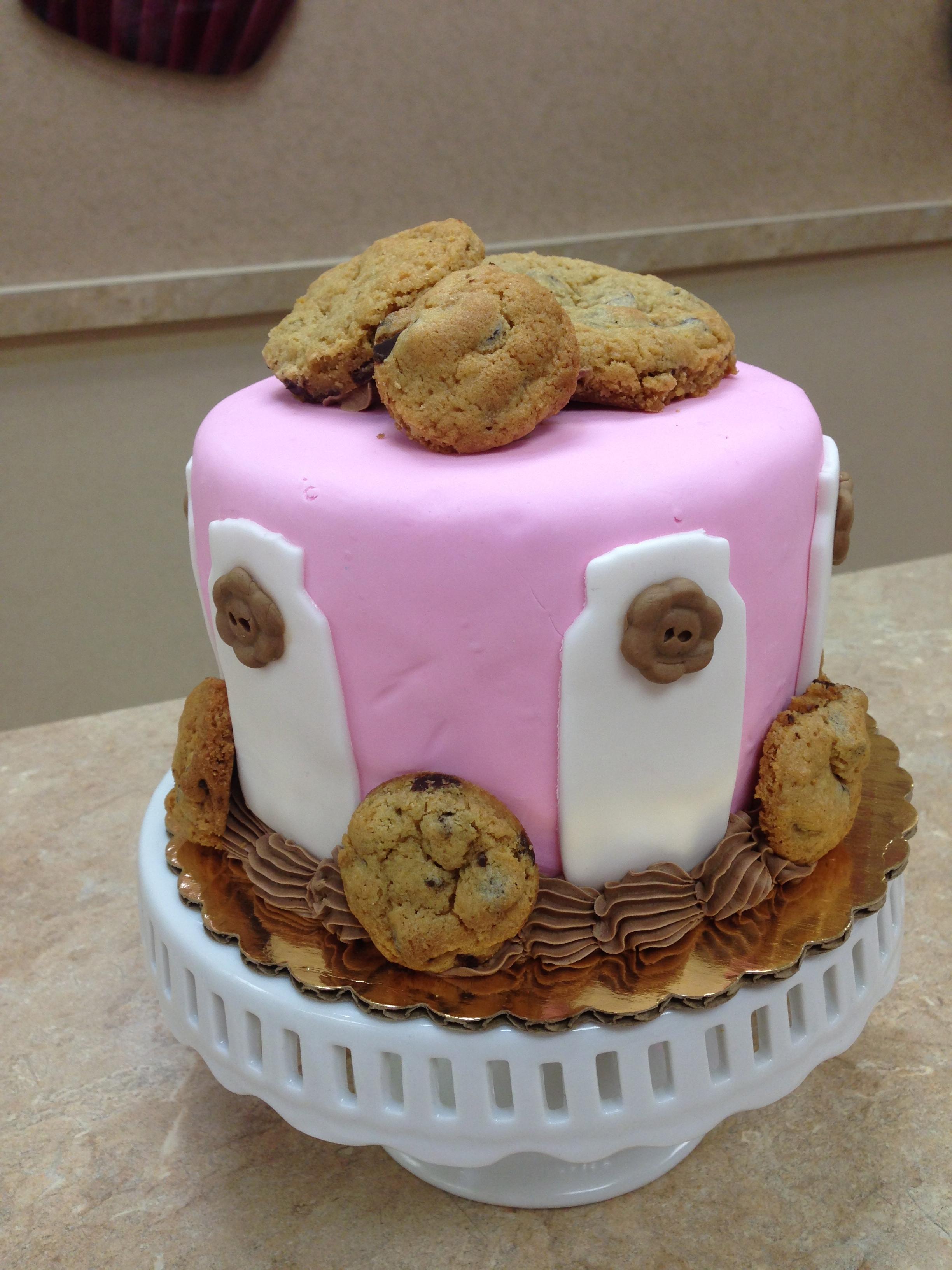 Milk & Cookies Cake