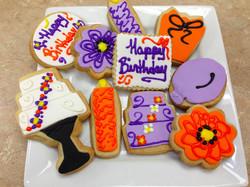 Happy Birthday Cookies