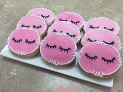 Eye Lash Cookies