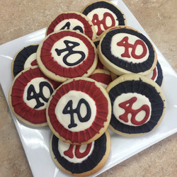 40th Cookie