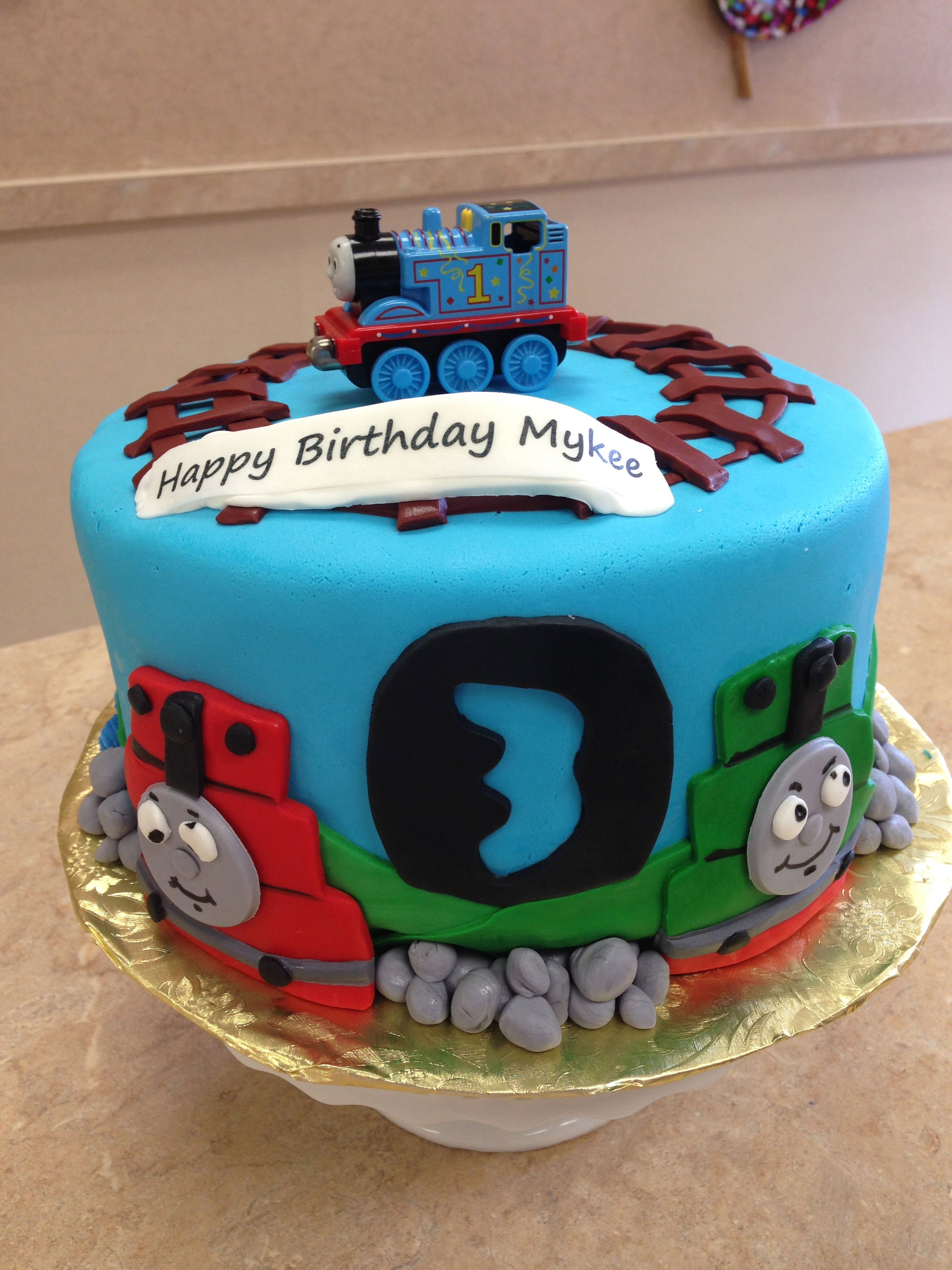 Thomas The Train Theme Cake