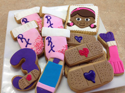 Doc McStuffins Cookies