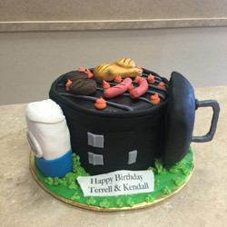 BBQ' Cake