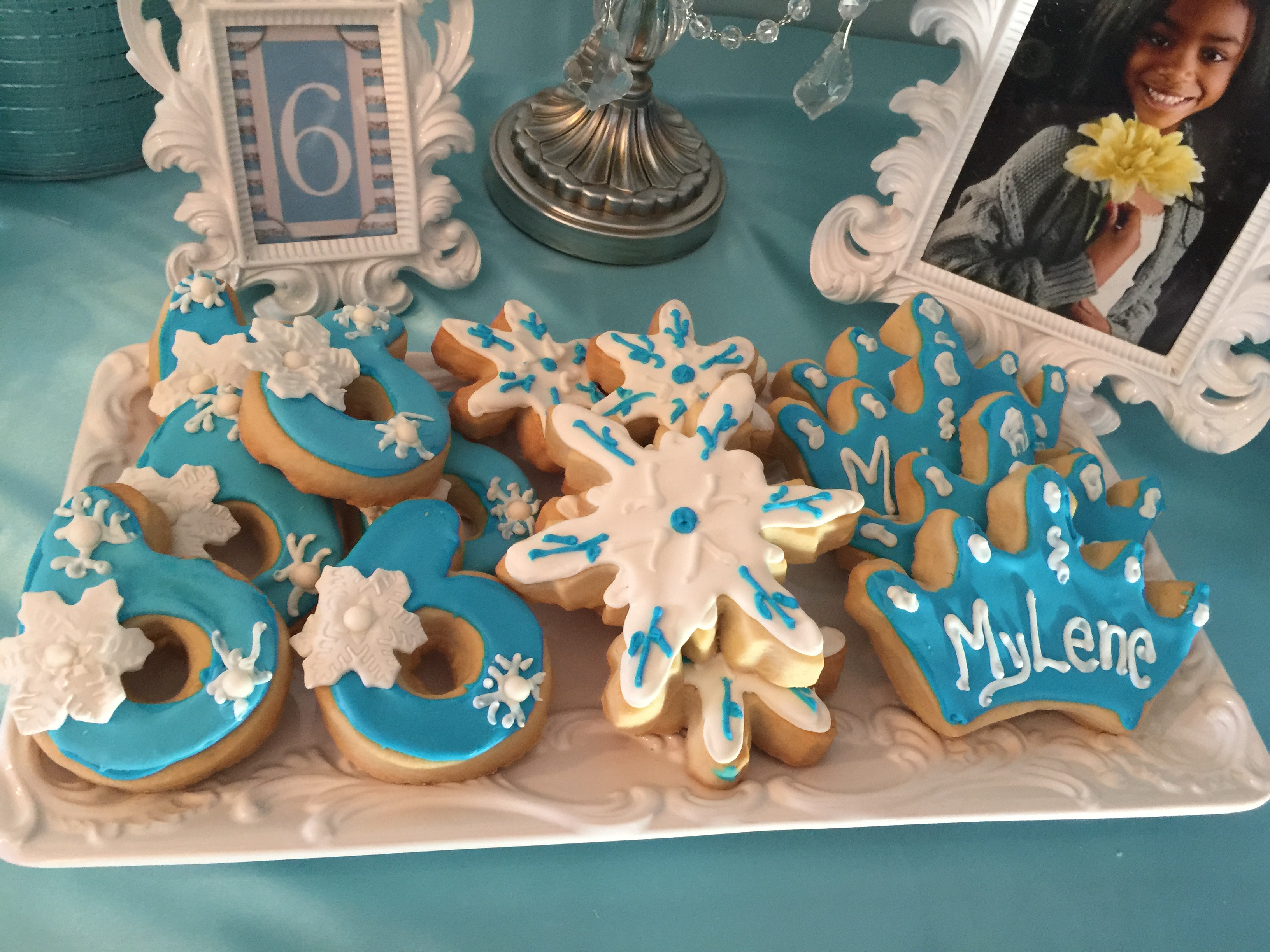 Frozen Cookie Theme